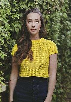 cropped tee crochet pattern wilkinson