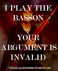 So true! #bassoon power #double reeds