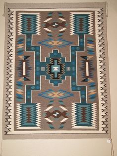 Contemporary Storm Pattern Navajo Rug Weaving For Sale, Get Yours, Great Selection, Great Prices, Authentic Genuine Navajo Rugs. Southwest Rugs, Southwestern Art, Southwestern Decorating, Navajo Art, Navajo Rugs, Native American Rugs, American Indian Art, Navajo Weaving, Hand Weaving