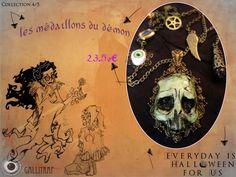 Création proposée par Gallitrap, participante d'Everyday is Halloween for Us, Troisième Editon, 2013.   * La page d'Everyday: https://www.facebook.com/coffin.glok * www.Facebook.com/gallitrap.page www.etsy.com/shop/Gallitrap