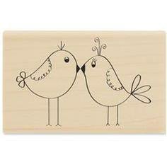 love bird stamp