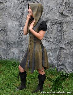 Ravenswood Leather Ranger Short Dress