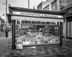 Timeless Newspaper Stand by AspireImage on Etsy, $20.00