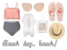 """A beach day."" by diana-gheatau on Polyvore featuring Topshop, Old Navy, Do Everything In Love and Nasty Gal"
