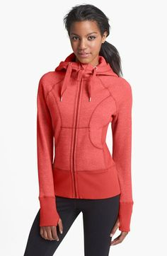 Zella 'Essential' Hoodie available at #Nordstrom So comfy, I could live in this! Lots of fun colors! Love Zella.....cute and comfortable!