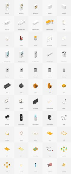 UPDATE : Sample screen is added which is composed of Isometric Office Pack. (Format AI) --- Overview The Isometric Office Pack provides more than a hundred Isometric Art, Isometric Design, Architecture People, Architecture Drawings, Photomontage, Note Pen, Office Supply Organization, Co Working, Creating A Brand