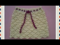 Falda volantes a crochet 1ª parte - YouTube
