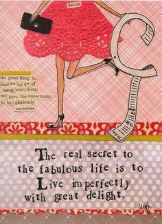 Secret to the Fabulous Life