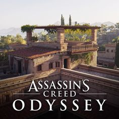 On Assassin's creed Odyssey, I had the great pleasure to be owner of the rich villas architectural modular kit. The kit is made of hundreds of modules used to make villas (interior + exterior). Assassins Creed Origins, Assassins Creed Odyssey, Renaissance, Minecraft Plans, Roman Architecture, Fantasy Concept Art, Minoan, Inspirational Artwork, Another World