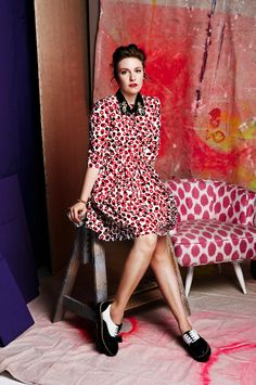 lena dunham - that dress, those shoes.