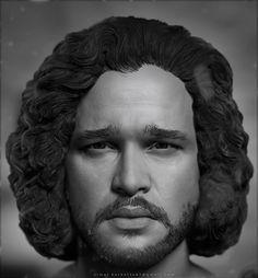 Jon Snow, vimal kerketta on ArtStation at https://www.artstation.com/artwork/YR4Q6