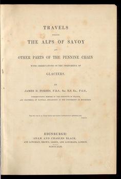 Travels through the Alps of Savoy. Rar_3333