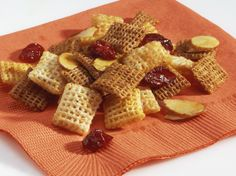 "Give the gift of a homemade snack mix.  This one may be the ""berry"" best you'll make!"