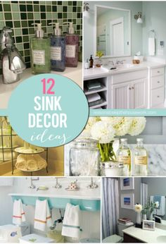 sink decor ideas