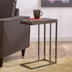 Found it at Wayfair - Epilson Chairside Table