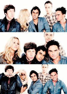 Kaley, Johnny, Jim, Kunal and Simon ~ Big Bang Theory Big Bang Theory Show, The Big Theory, Big Bang Theory Funny, Godzilla, Nerd Love, My Love, Dramas, Jim Parsons, Modern Family