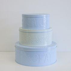 CAKE TINS - SET OF 3