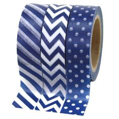Washi Tape in Navy Blue