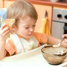One-year-old children are ready for a variety of nutritious breakfast foods