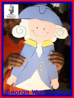 George Washington craftivity!  Perfect for President's Week!