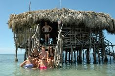 Floyd's Pelican Bar in Jamaica...you need a boat to get there!