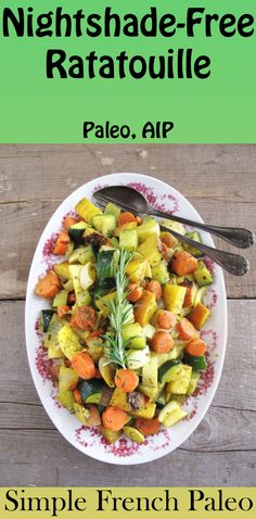 Sample Recipe from the AIP Cookbook: Simple French Paleo