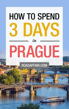 The Perfect 3 Days in Prague Itinerary. The Perfect 3 Days in Prague Itinerary. Prague Travel Guide, Europe Travel Tips, Europe Destinations, Travel Guides, Places To Travel, Travelling Tips, Traveling, European Vacation, European Travel
