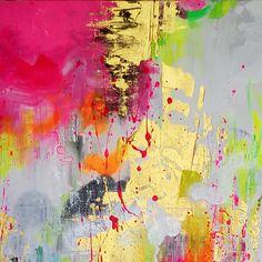 Pintada a mano Abstracto Vertical,Clásico Un Panel Lienzos Pintura al óleo pintada a colgar For Decoración hogareña 2017 - $40.79