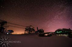 C'est le ciel chargé de Courchevel qui nous offre un spectacle féérique ! © Alexis Cornu