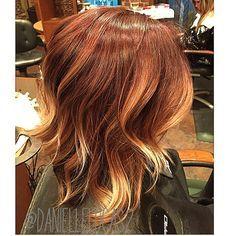 Balayage Hair Brown And Red