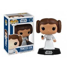 Funko Mania Funko Princess Leia, Princesa Leia, Star Wars, Guerra nas Estrelas Funko Mania