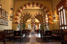 Old Cataract Hotel, Aswan, Egypt (just like Agatha Christie)