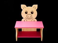 Kinderbank Schwein | KANAHOLZ
