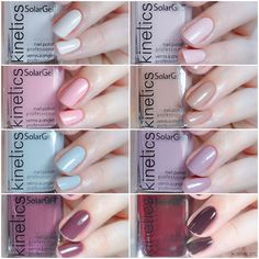 """""""Nude Different"""" SPRING 2018 Collection - Kinetics Nails Systems"""
