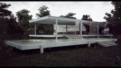 Farnsworth House Final 1 by the-f-render.deviantart.com on @deviantART