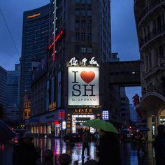 雨天 by @hansnewday #傘 #夜 #空 #天気 #zaishanghai #China #Shanghai #View #Sky #night #Road#景色 #風景 #travel #中国 #路 #shanghai #china #china #在上海 #上海 #中国 by zai_shanghai