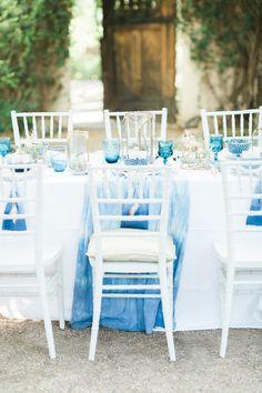 Indigo dyed wedding