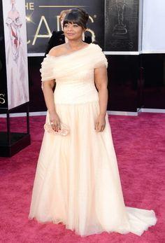 Octavia Spencer Wore Tadashi Shoji at the 2013 Oscars