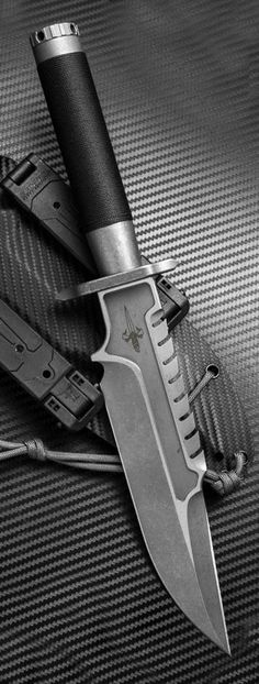 MicroTech Marfione Custom Interceptor Rambo Fixed Survival Knife Blade