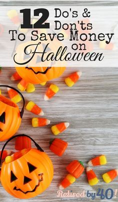It is easy to get overwhelmed with all of the planning that goes into how to save money on Halloween and still making it fabulous, but if you start now, not only will you keep your budget in check, you'll have the most fabulous Halloween on the block! Diy Halloween Costumes For Kids, Halloween Food For Party, Diy Halloween Decorations, Holidays Halloween, Easy Halloween, Halloween Recipe, Ways To Save Money, How To Make Money, Money Saving Meals