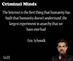 The internet is the first thing that humanity has built that humanity doesn't understand. the largest experiment in anarchy that we have ever had- Eric Schmidt said by David Rossi