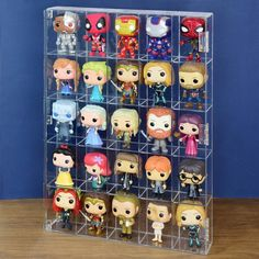 Mini Funko Pop, Funko Pop Display, Funko Pop Shelves, Retail Counter, Funko Pop Dolls, Otaku Room, Pop Collection, Collection Displays, Figurine Pop