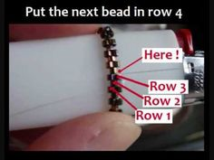 Video: How To Read Even Count Tubular Peyote Patterns Bead A BIC Lighter ~ Seed Bead Tutorials