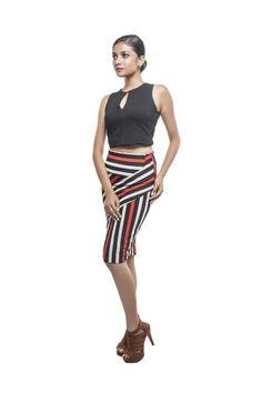 Résultats de recherche d'images pour «draped pencil skirt»