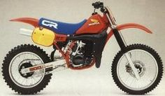 Honda Elsinore CR500 Motorcycles