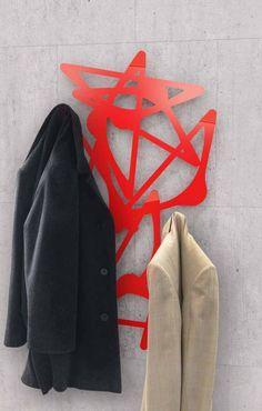 bla bla coat hanger, design Lana+Savettiere for mabele daily steel