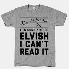 lit geek here. not math geek. And proud of it.