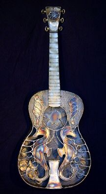 Seahorse guitar
