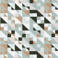 Cotton grey/rose/black/brown graphic - Stoff & Stil - Printed woven cotton for your DIY projects!