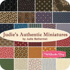 Judie's Authentic Miniatures Yardage Judie Rothermel for Marcus Brothers Fabrics